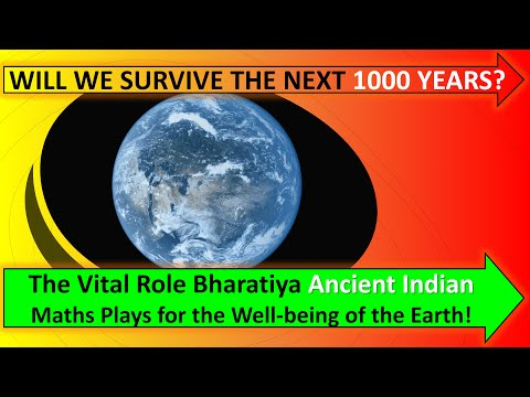 Jonathan J. Crabtree: The role Bharatiya Ancient Indian Maths plays for the well-being of the Earth.