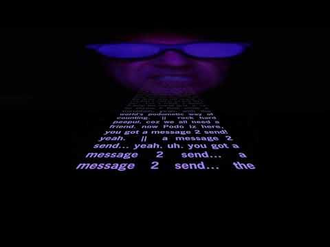 Jonathan J. Crabtree lip syncs his rap song The Podometic Message