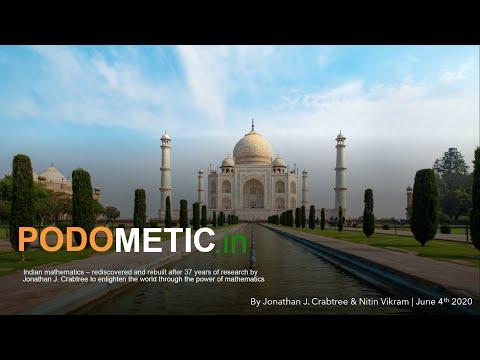 Nitin Vikram Interviews Jonathan Crabtree on his Podometic Bharatiya Maths Innovation & Life Story