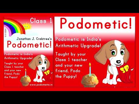 Podometic is India's Zero-Based Arithmetic Upgrade.This video is a sneak peak of Class 1 content.