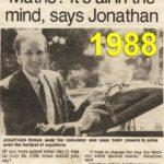 1988 maths newspaper article