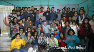 Happy people in Asansol