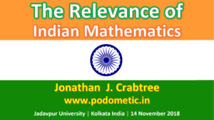 The Relevance of Indian Mathematics