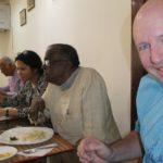 Lunch at Visva-Bharati University